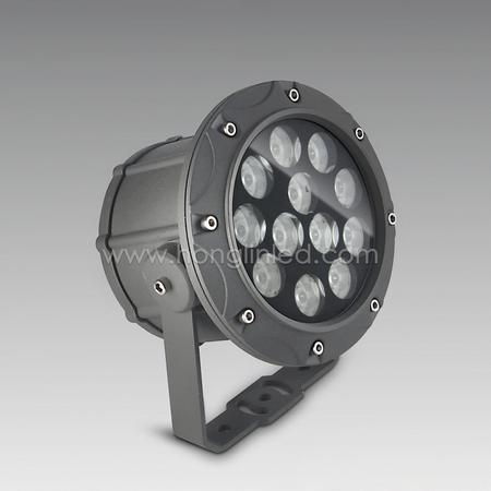 新款12*2W大功率LED投光灯