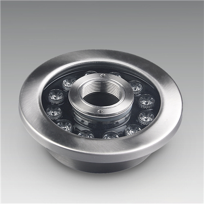 不锈钢12W大功率LED喷泉灯