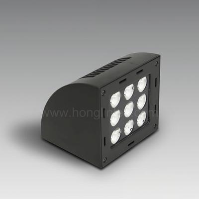 9W弧形LED户外壁灯